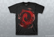 """Devastation"" T-shirt available at Fangamer"