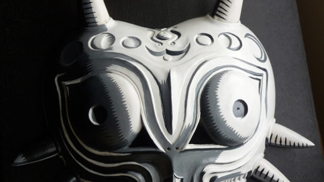 Oni Mask custom paint job