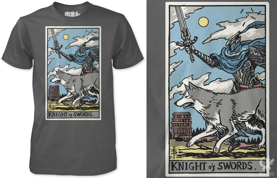 Knight of Swords shirt