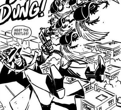 "New comic: ""Dr. Sarcophagus"""