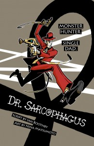 """Dr. Sarcophagus"" cover"