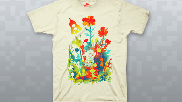 """""""Local Flora"""" shirt available at Fangamer"""