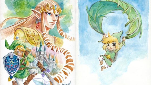 Zelda paintings raise over $1600 for charity