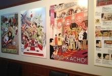 GCCX art displayed in Tokyo