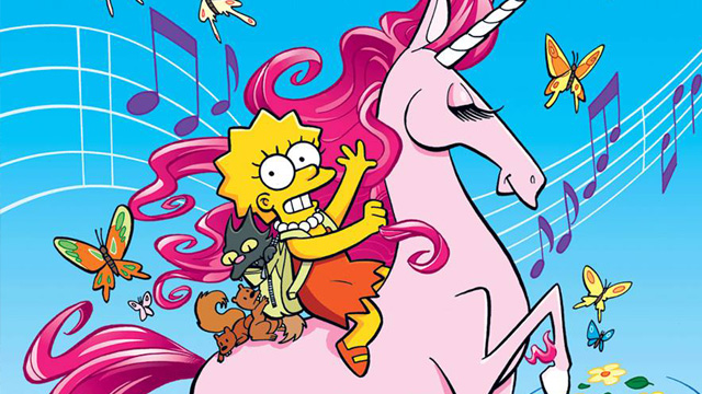The Wonderful World of Lisa Simpson cover