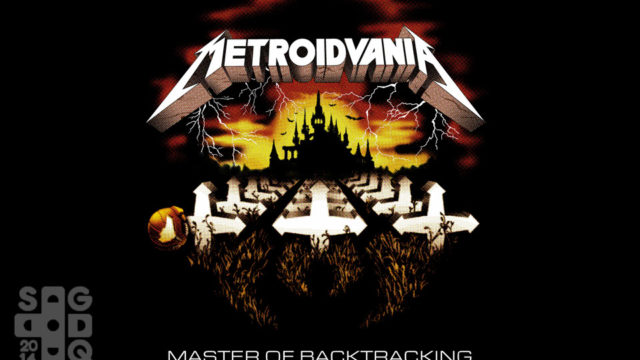 """""""Metroidvania"""" shirt for Doctors Without Borders"""