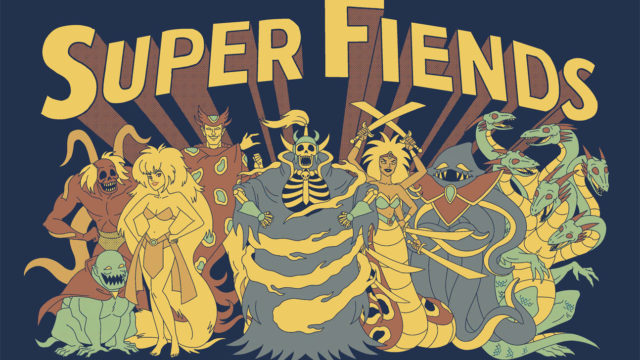 """Super Fiends"" shirt for NAMI"