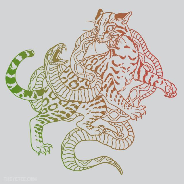 """""""Snake vs. Ocelot"""" shirt"""