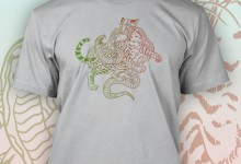 """Snake vs. Ocelot"" shirt for Doctors Without Borders"