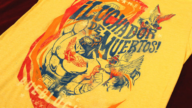 "Official ""Guacamelee!"" shirt up at Fangamer"