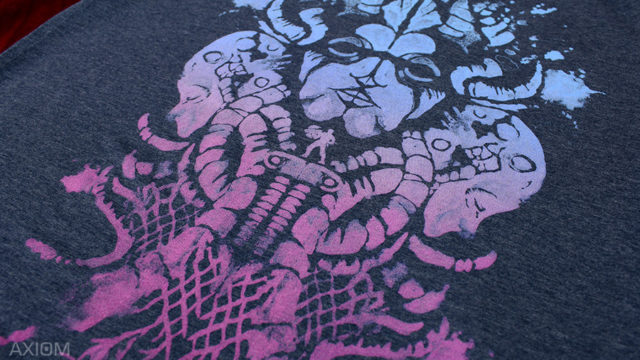"Official ""Axiom Verge"" shirt up at Fangamer"