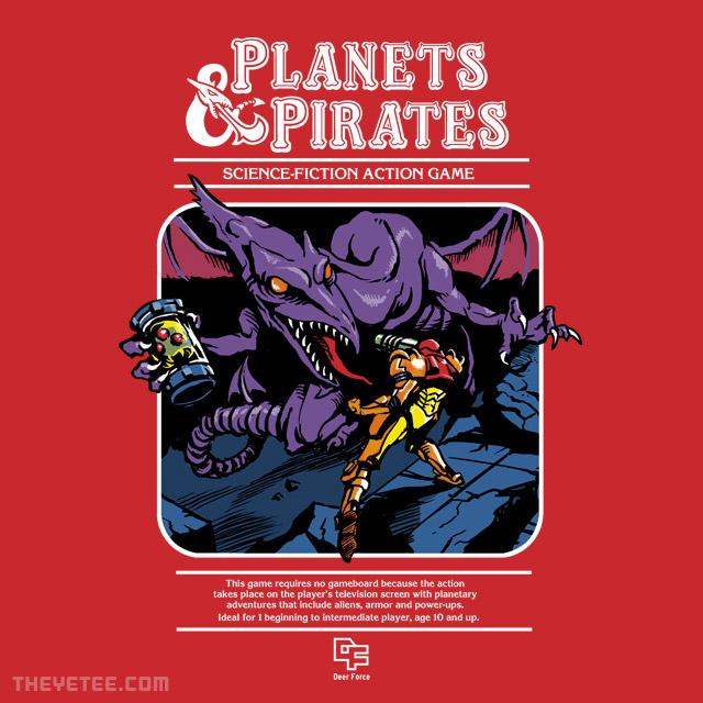 Planets & Pirates shirt