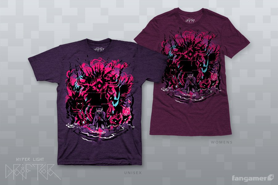 "Hyper Light Drifter ""Judgment"" shirt"
