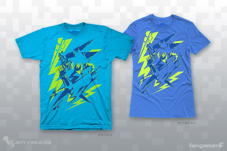 """Zap Pop"" shirts"