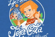 Stardew Valley Joja-Cola shirt